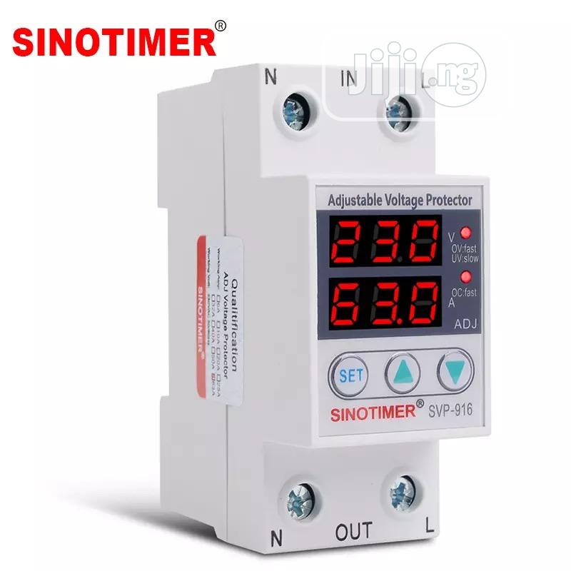 Adjust Voltage Relay Control Over Under Voltage Protector 220V 63A | Home Appliances for sale in Ifako-Ijaiye, Lagos State, Nigeria
