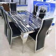 Marble Dining With 6 Chairs | Furniture for sale in Lagos State, Lekki Phase 2
