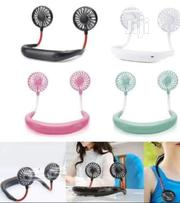 360 Degree Neck Band Hands-free Dual Fan | Home Accessories for sale in Lagos State, Lagos Island