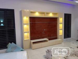 Luxury Home TV Stand With LED Bulbs   Furniture for sale in Oyo State, Ibadan