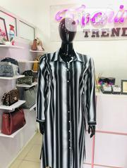 Blue Long Shirt Dress | Clothing for sale in Abuja (FCT) State, Garki 2