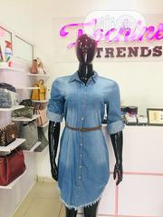 Short Denim Dress   Clothing for sale in Abuja (FCT) State, Wuse 2