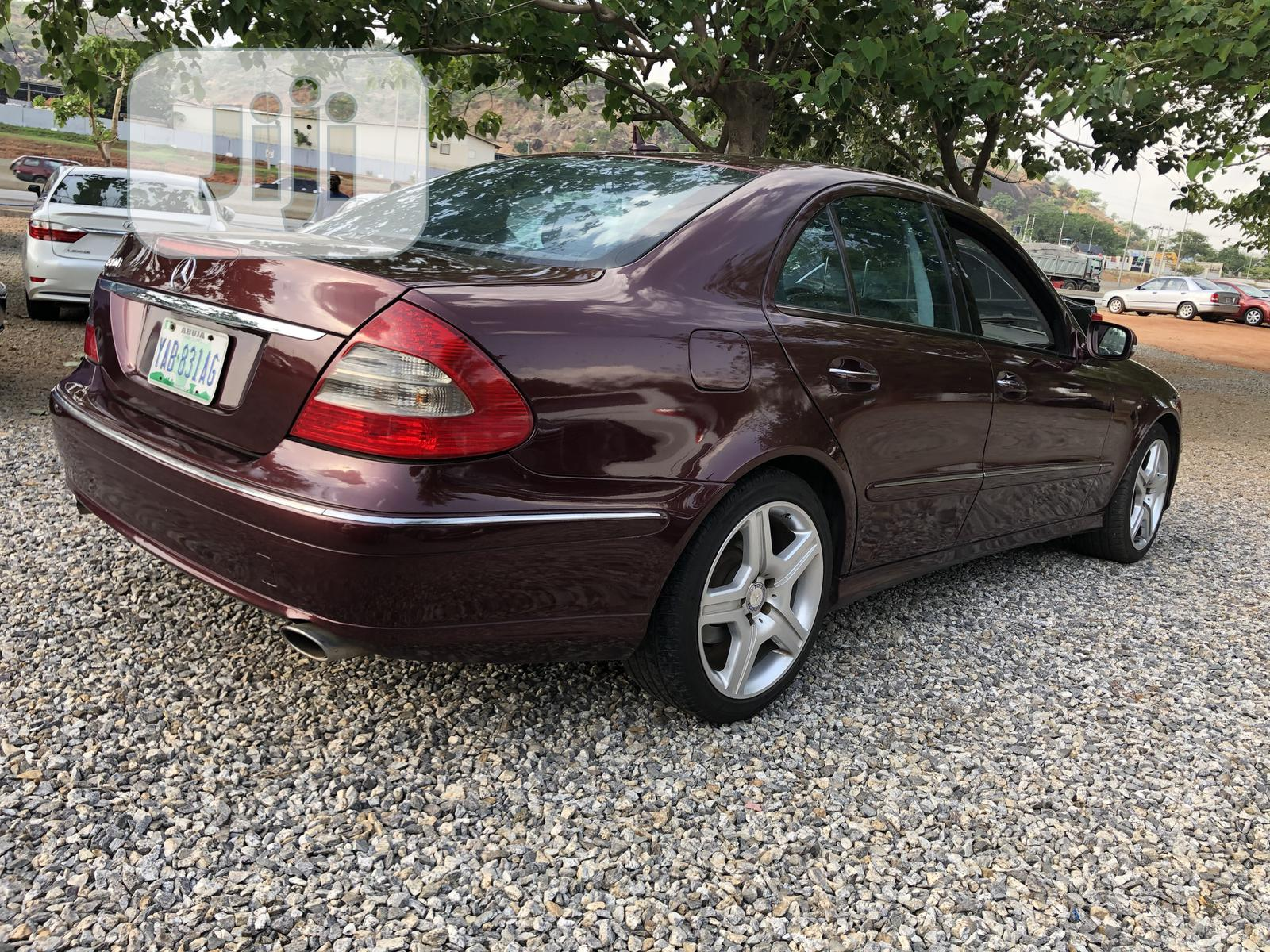 Archive: Mercedes-Benz E350 2007 Red