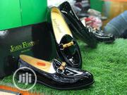 Black Leather John Foster Shoes | Shoes for sale in Lagos State, Lagos Island