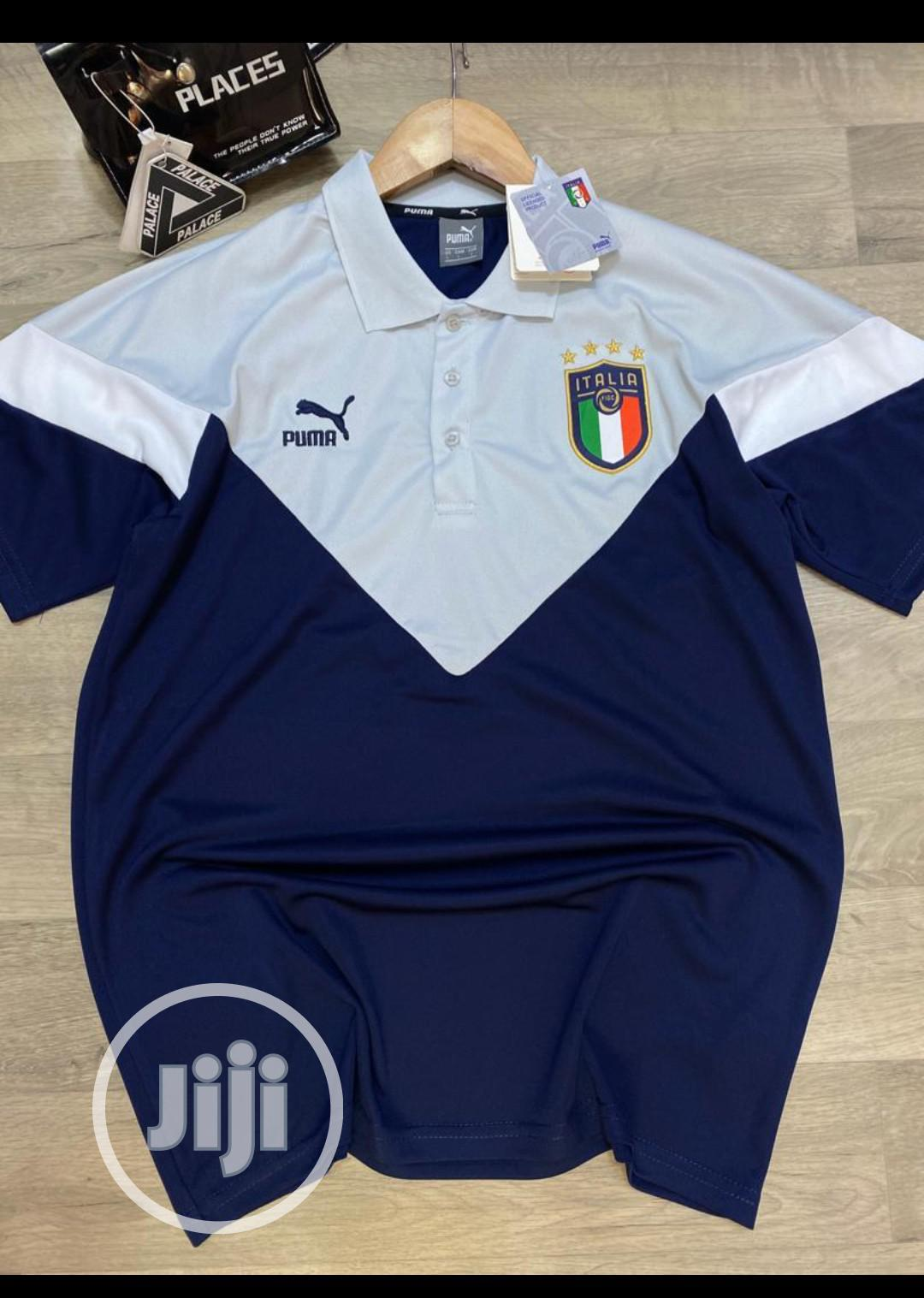 Italy Official Men's Polo Shirt | Clothing for sale in Surulere, Lagos State, Nigeria