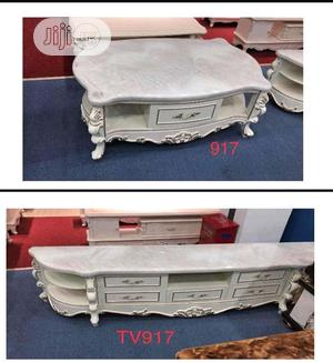 New Design Tv Stand and Center Table   Furniture for sale in Rivers State, Port-Harcourt