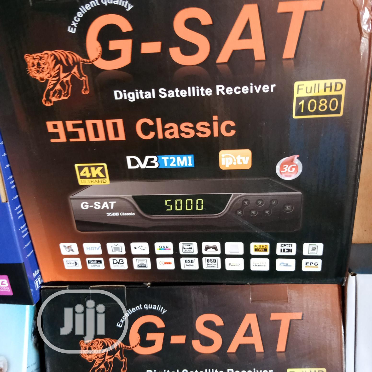 G-sat Digital Satellite Receiver