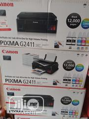 Pixma All In One G2411 Printer With Refillable Tank | Printers & Scanners for sale in Lagos State, Ikeja
