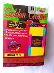 Gold Crown Refill Ink Colour | Accessories & Supplies for Electronics for sale in Lagos State, Apapa
