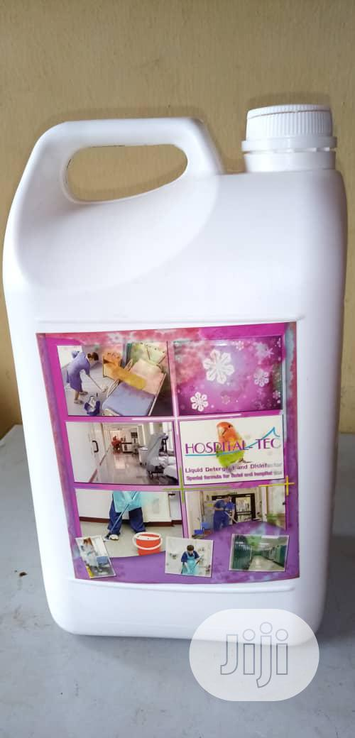 Hospital Tec Effective Floor Cleaner And Disinfectant