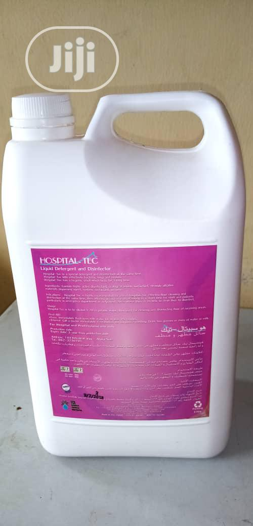 Hospital Tec Effective Floor Cleaner And Disinfectant | Home Accessories for sale in Ikotun/Igando, Lagos State, Nigeria