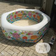 Kids Swimming Pool Size 1.91m X 1.78 X 61cm   Sports Equipment for sale in Lagos State, Mushin