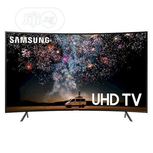 Samsung 55 Inch 2019 Curved 4K RU7300 Ultra Slim Smart- TV