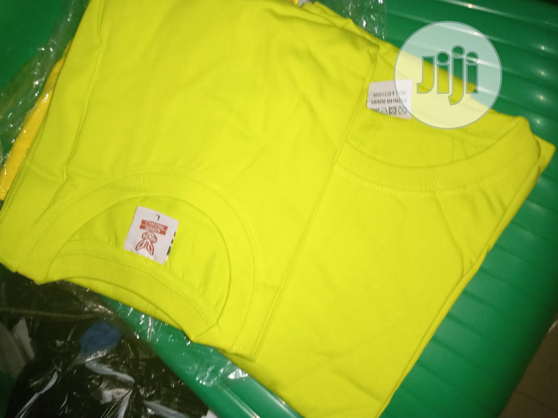 Archive: Pure Cotton Tee Shirt Wholesaler In Nigeria (Mimimum 12pieces)