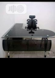 Glass Office Table With Chairs | Furniture for sale in Lagos State, Maryland