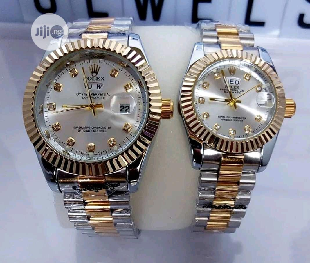 Rolex His And Her That Is For Male And Female