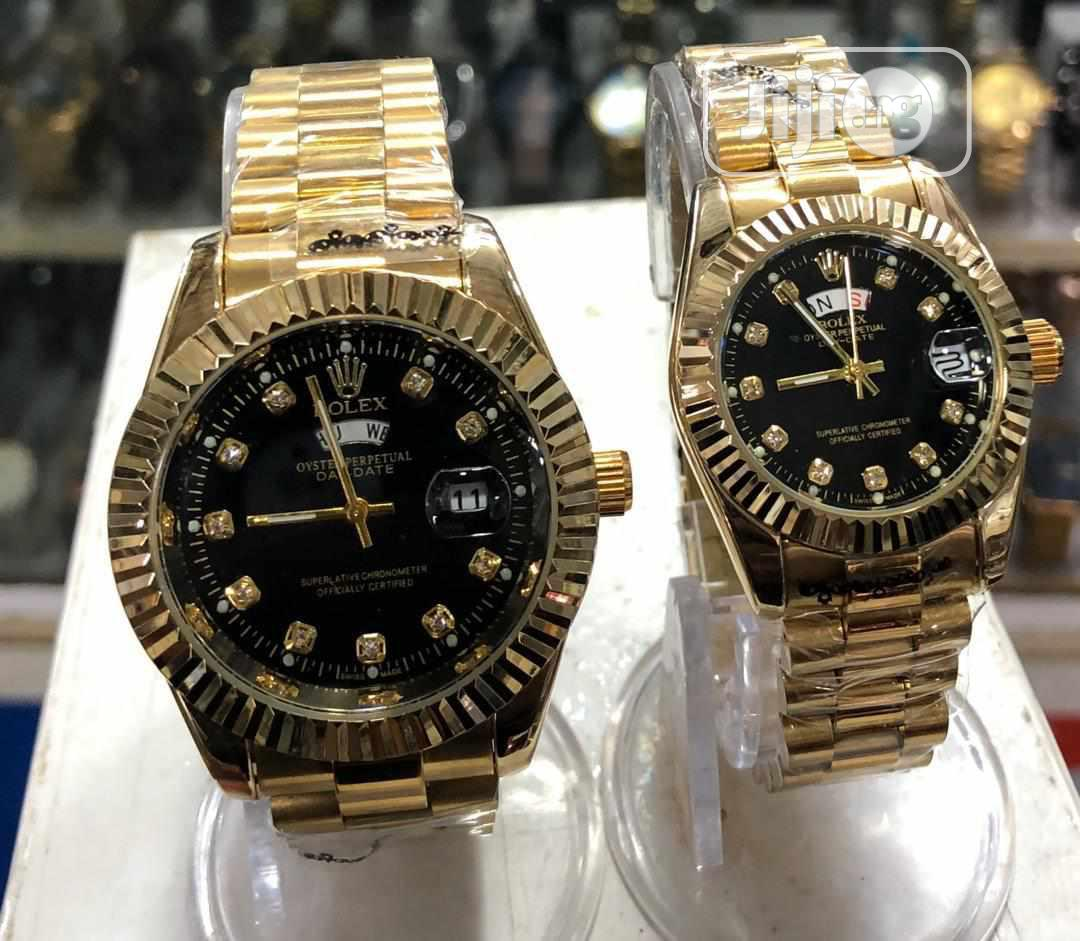 Rolex His And Her That Is For Male And Female | Watches for sale in Alimosho, Lagos State, Nigeria