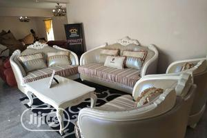 Complete Set Of Royal Chair Center Table And Tv Shelf   Furniture for sale in Abuja (FCT) State, Wuse