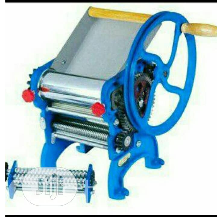 Manual Chinchin Cutting Machine