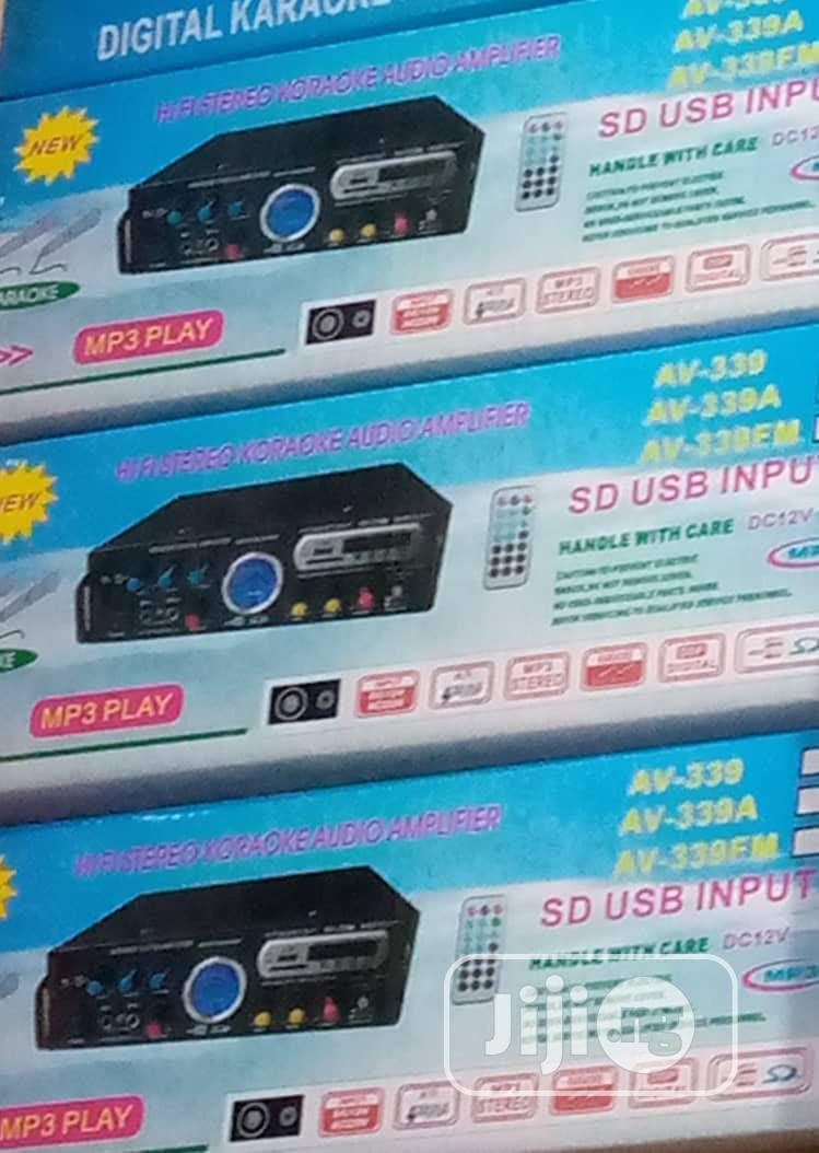Hi-fi Steroe Karaoke Audio Amplifier