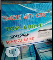 100ahs 12volt Top-light Battery With One Year Warranty | Electrical Equipment for sale in Lagos State, Ojo