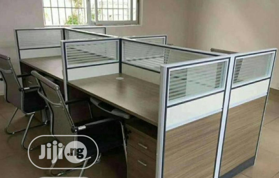 New Imported 4 Seater Workstation