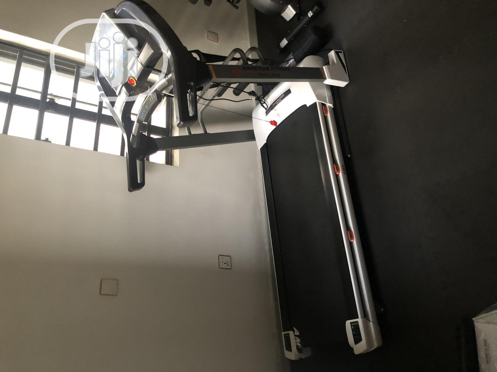 Brand New 2.5hp America Fitness Treadmill With Massager | Sports Equipment for sale in Sagamu, Ogun State, Nigeria