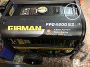 Firman 4800key and Tyre With Battery 4kva | Home Appliances for sale in Lagos State, Ikeja