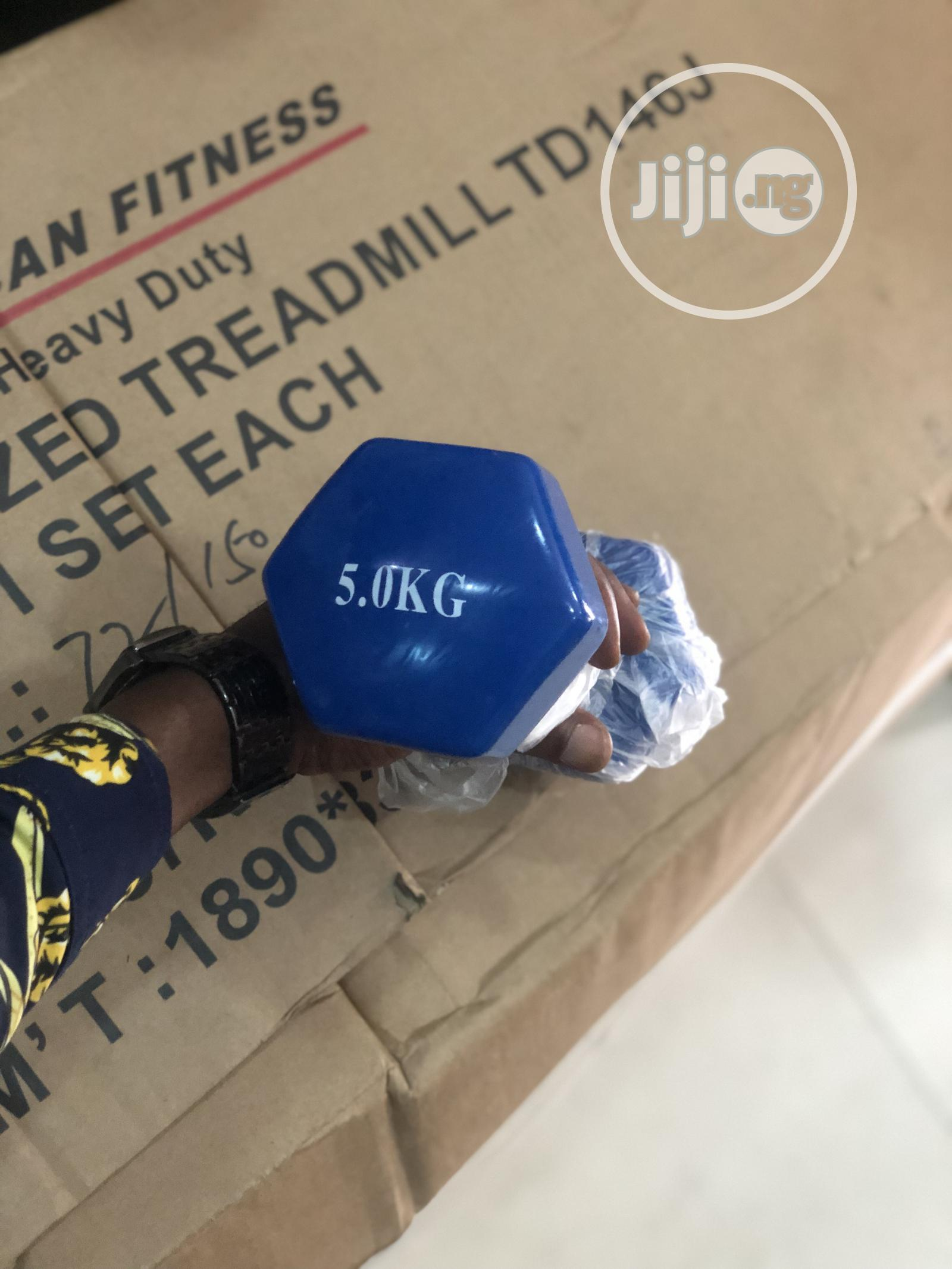 5kg Dumbell | Sports Equipment for sale in Yaba, Lagos State, Nigeria