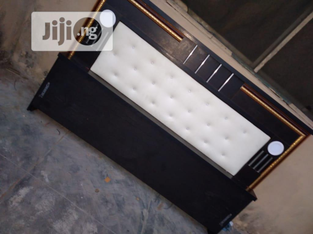 (4*5×6) Bedframe With Quality Mouka Matrass | Furniture for sale in Ojo, Lagos State, Nigeria