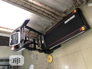 Brand New 2.5hp German Machine Treadmill   Sports Equipment for sale in Lagos State, Ikeja