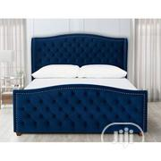 Bed Blue Color   Furniture for sale in Lagos State, Lagos Island