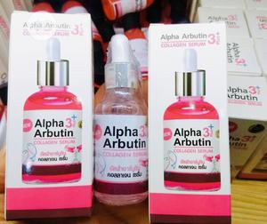 Alpha Arbutin 3 Plus Collagen Serum (Whitening Serum) - 40ml   Skin Care for sale in Lagos State, Ikeja