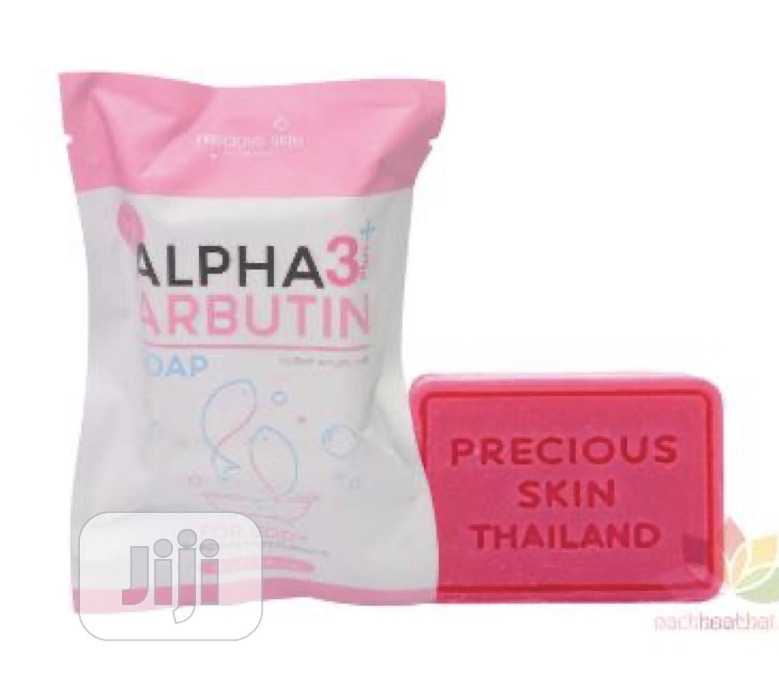 Alpha Arbutin 3 Plus Soap for Skin Whitening - 80g | Bath & Body for sale in Ikeja, Lagos State, Nigeria