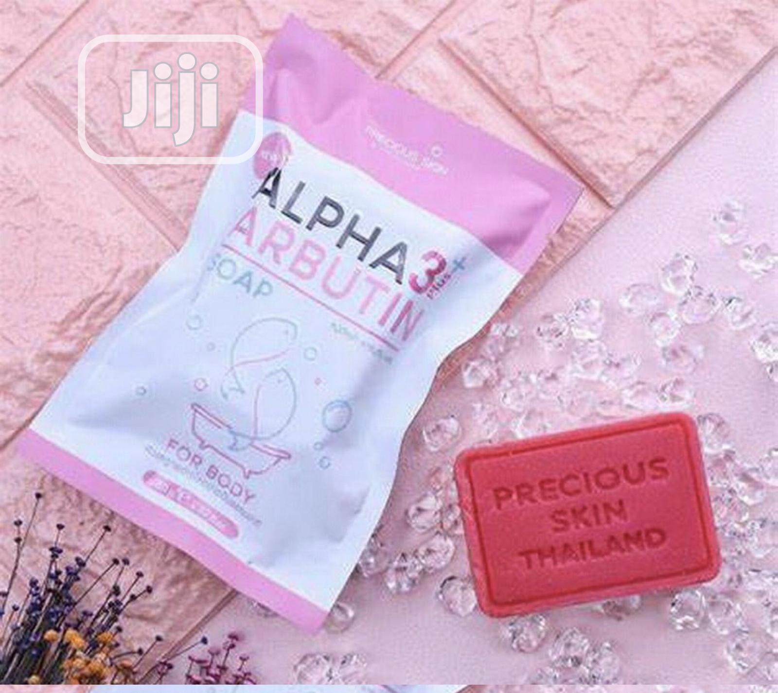 Alpha Arbutin 3 Plus Soap for Skin Whitening - 80g