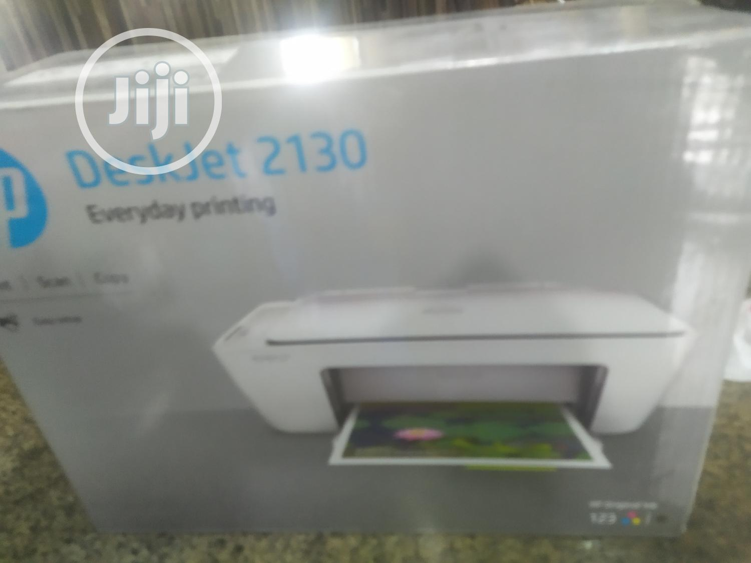 Hp Deskjet 2130 All In 1 Color Printer | Printers & Scanners for sale in Apapa, Lagos State, Nigeria
