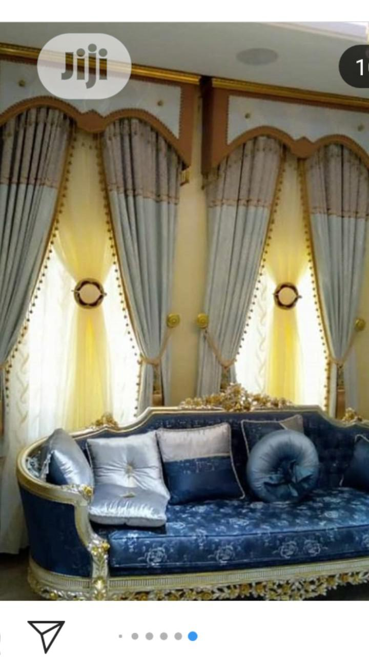 Quality and Beautiful Italian Curtains Available at Affordable Prices   Home Accessories for sale in Yaba, Lagos State, Nigeria