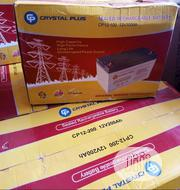 12volt 100ahs Crystal Plus With Warranty | Electrical Equipment for sale in Lagos State, Ojo