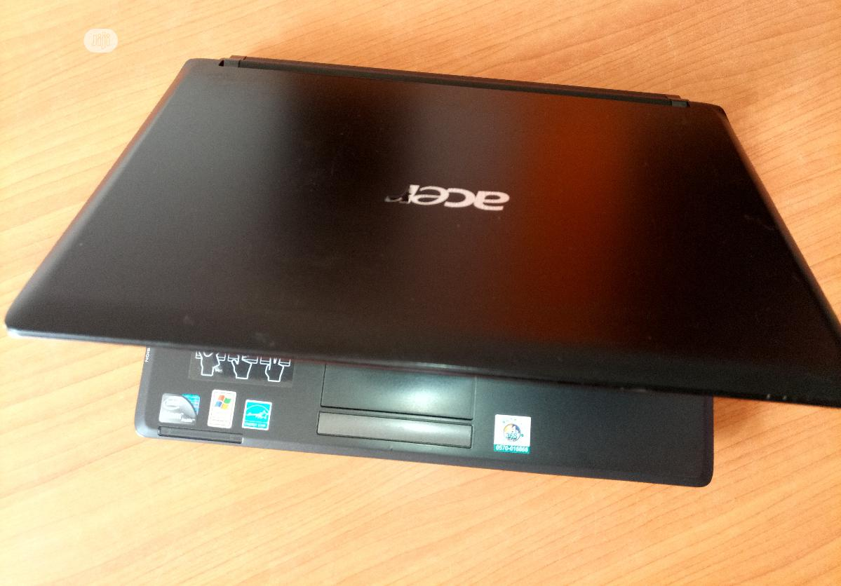 Laptop Acer Aspire 1 2GB Intel Core 2 Duo HDD 160GB | Laptops & Computers for sale in Enugu, Enugu State, Nigeria