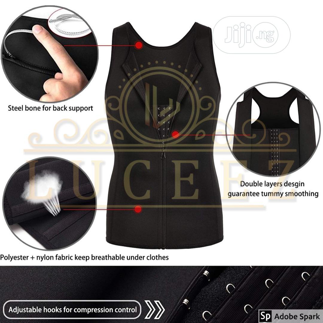 Male Compression/Body Shaper Garment | Clothing Accessories for sale in Ikeja, Lagos State, Nigeria