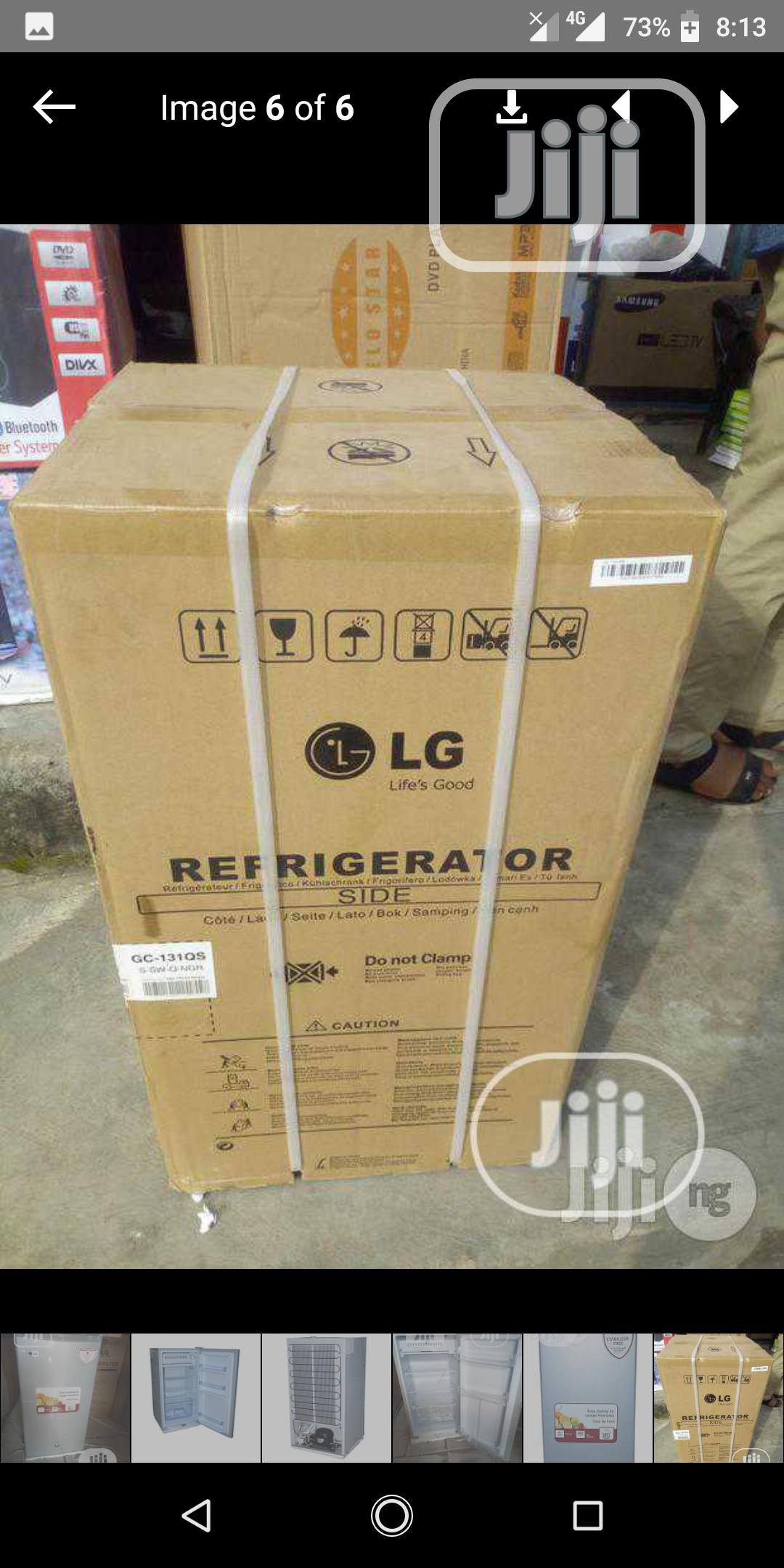 Brand New LG 100L FRIDGE With Thermostat Fast Cool + Warranty | Kitchen Appliances for sale in Ojo, Lagos State, Nigeria