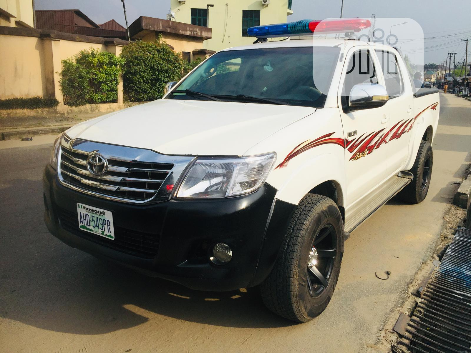 Clean Police Hilux for Hire / Charter | Automotive Services for sale in Port-Harcourt, Rivers State, Nigeria