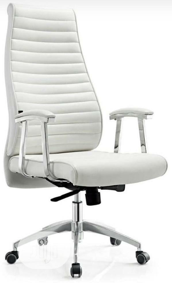 Super Quality White Executive Office Chair