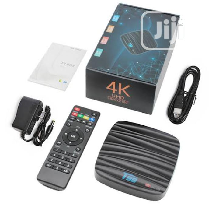 T98 Android TV Box 4GB 32GB Internet 4k Smart | TV & DVD Equipment for sale in Ikeja, Lagos State, Nigeria