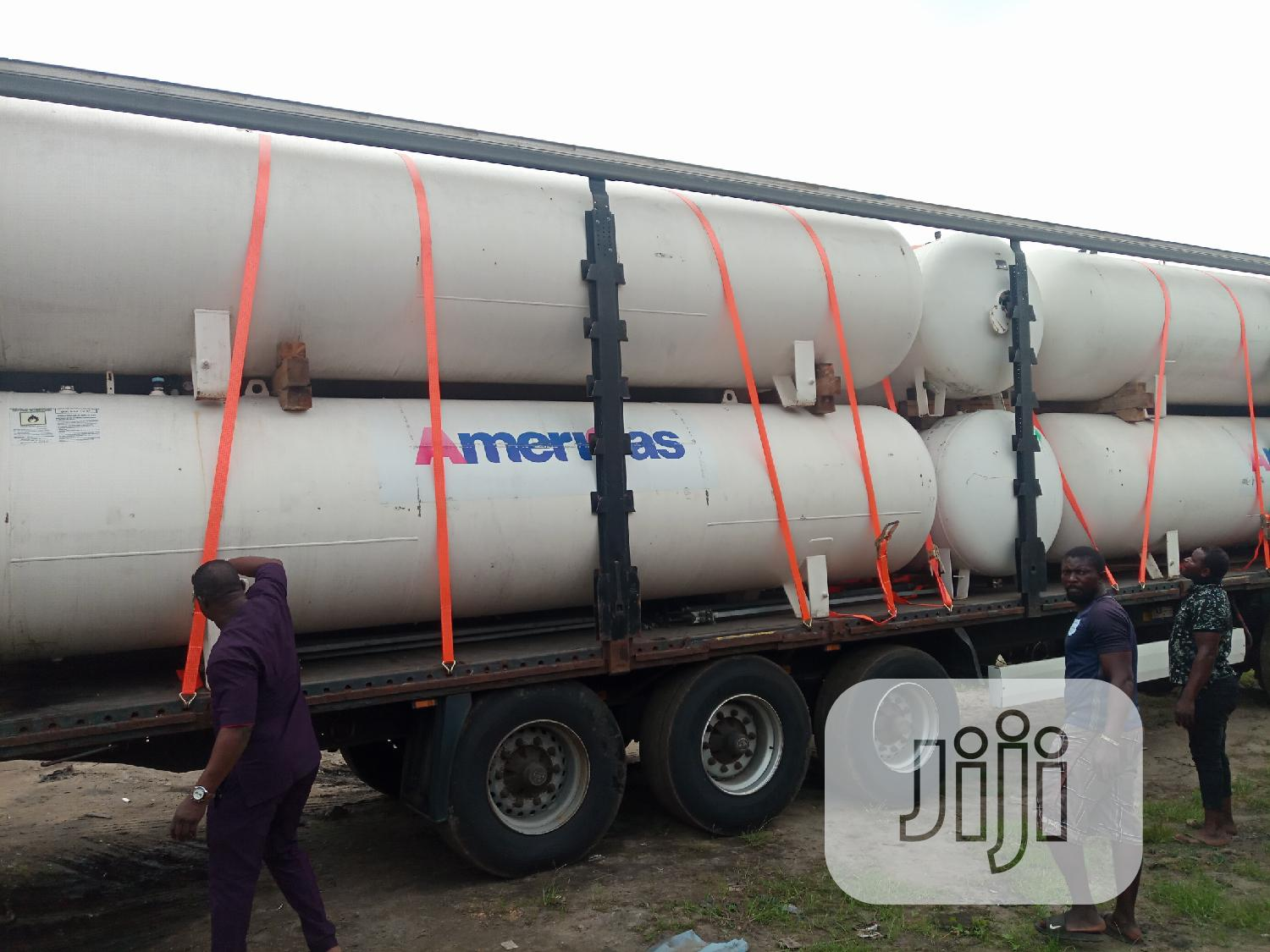 Gas Tanks - 3.5 Tons (6700 Litres) With All Tank Accessories