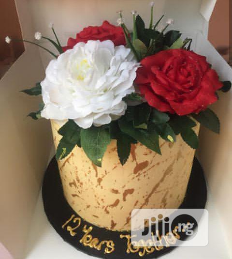 Anniversary Butter Cream Cake