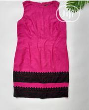 Pink Dress With Black Lace | Clothing for sale in Lagos State, Alimosho