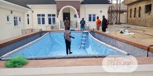 Intex 24' X 12ft Collapsable Swimming Pool   Sports Equipment for sale in Lagos State, Amuwo-Odofin