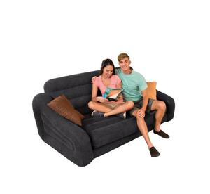 Intex Intex Double Pull-out Sofa And Airbed In Black | Furniture for sale in Lagos State, Ikeja