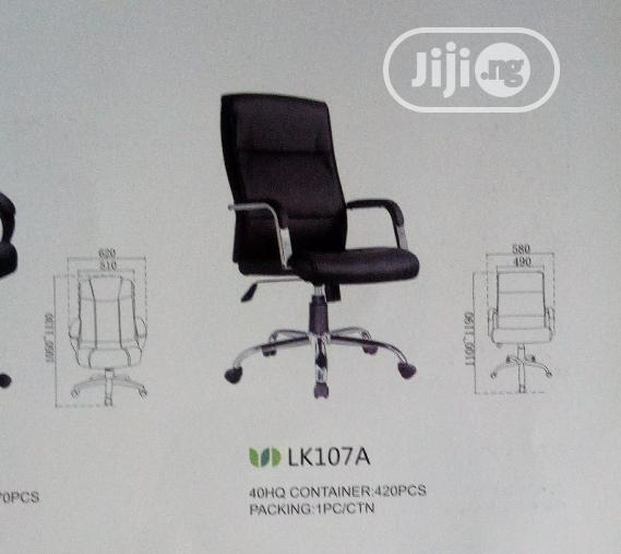 Brand New Imported Executive Leather Office Chair With Quality Leather